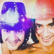 Διονύσης Σχοινάς: Η selfie φωτογραφία με τον αδερφό του στο Instagram