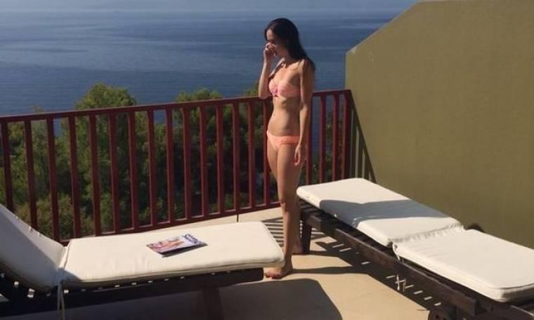 Η Αμερικανίδα ηθοποιός Alexis Blendel στην Ελλάδα