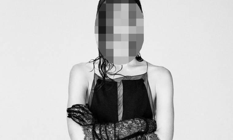 Πρωταγωνίστρια φωτογραφήθηκε ημίγυμνη