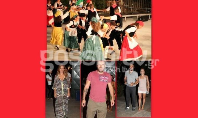 Το διεθνές Φεστιβάλ χορού και μουσικής, Earthdancers παρακολούθησαν χθες βράδυ οι επώνυμοι