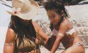 Ελένη Πετρουλάκη: Η μικρή της κόρη έμαθε κολύμπι