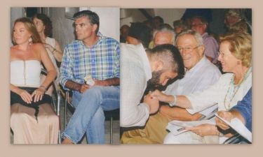 Στεφανίδου – Ευαγγελάτος: Η συνάντηση τους με τον Κωνσταντίνο και την Άννα – Μαρία