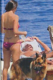 Roberto Cavalli: Οι διακοπές του με την σύντροφό του
