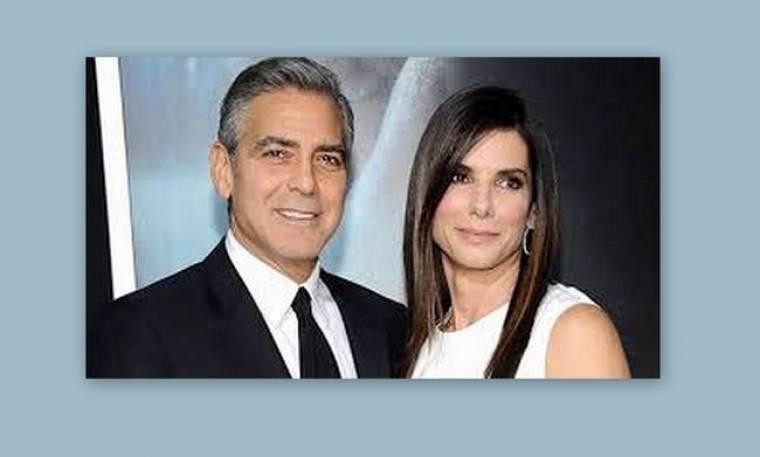 Clooney- Bullock: Αχώριστο κινηματογραφικό ζευγάρι
