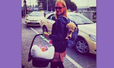 Μεριέμ Ουζερλί: Οι πρώτες διακοπές με την κόρη της (φωτό)