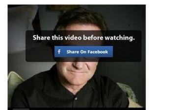 Διαφήμιση-απάτη στο Facebook με το μήνυμα αυτοκτονίας του Robin Williams