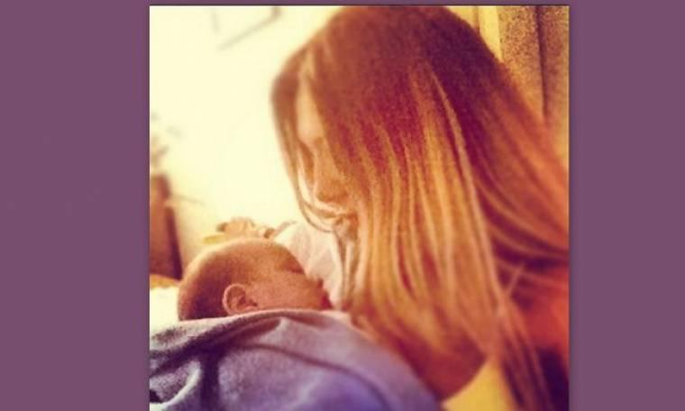 Αγγελική Ηλιάδη: Οι τρυφερές στιγμές με τον δεύτερο γιο της