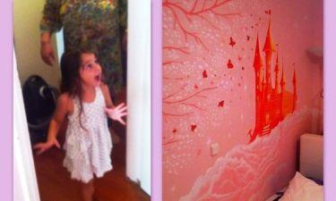 Η έκπληξη που άφησε την κόρη της με ανοιχτό το στόμα!