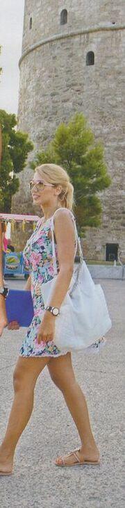 Κωνσταντίνα Σπυροπούλου: Στην Θεσσαλονίκη για τα γυρίσματα της νέας της εκπομπής
