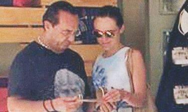 Λευτέρης Πανταζής: Διακοπές στην Σκιάθο με την Άλεξις Μπλέντελ