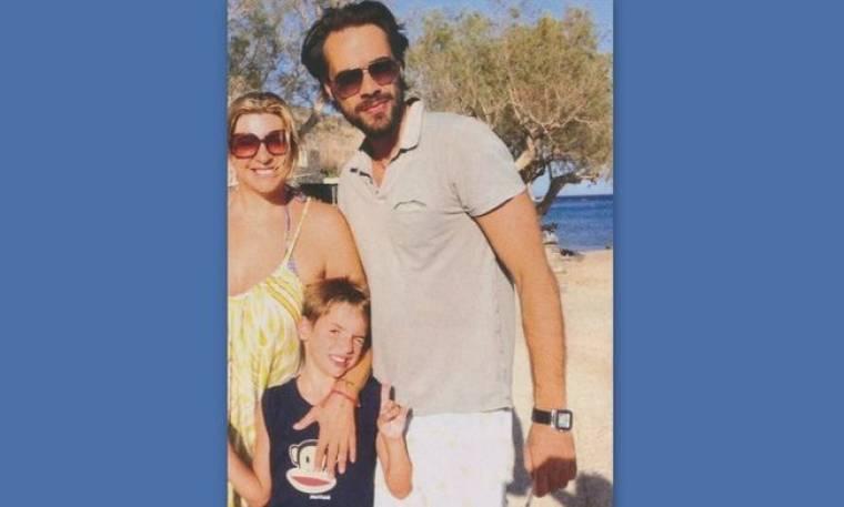 Χριστίνα Πολίτη: Στην Κρήτη με το γιο της και τον πρώην άντρα της