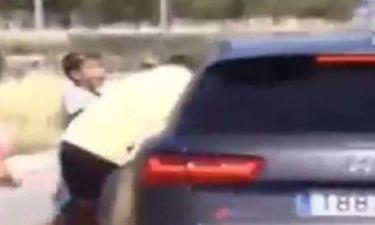 Ρεάλ Μαδρίτης: Ο Ρονάλντο «παρέσυρε» οπαδό με το αυτοκίνητο (video)