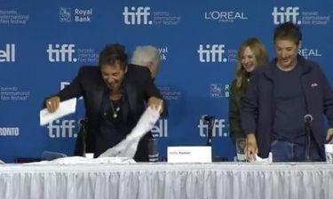 Δείτε τον Al Pacino να εκτελεί και χρέη… καθαρίστριας