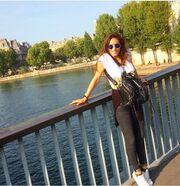 Ακόμα απολαμβάνει το Παρίσι η…