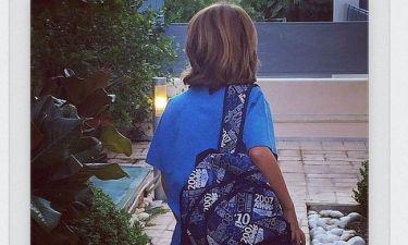 Η ερώτηση του Χάρη στην Έλενα Τσαβαλιά στην πρώτη μέρα στο σχολείο