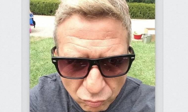 Και selfie και… duck face από τον Κώστα Κόκλα!