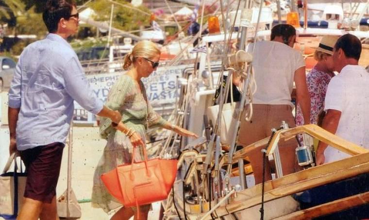 Μαρί Σαντάλ-Παύλος Γλίξμπουρκ: Οι οικογενειακές διακοπές στο Πόρτο Χέλι