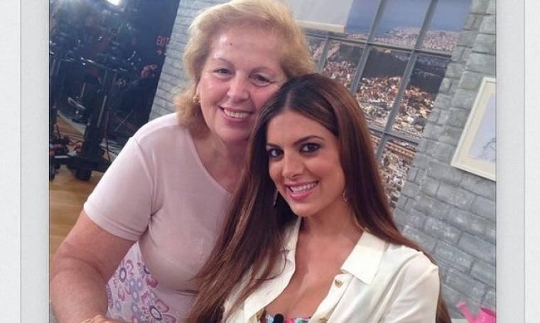 Με την μητέρα της στην πρεμιέρα της η Σταματίνα Τσιμτσιλή