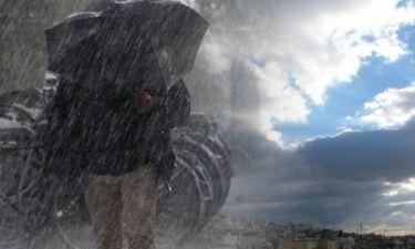 Καιρός: Που θα «χτυπήσουν» οι βροχές και οι καταιγίδες–Βελτιώνεται από την Πέμπτη