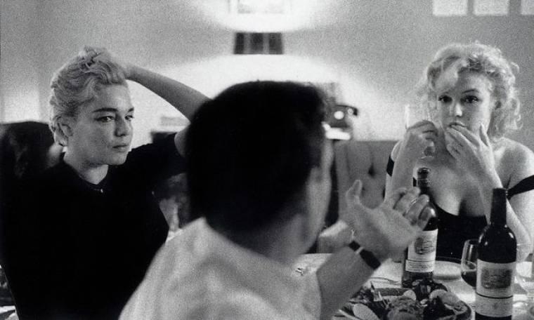 Μέριλιν Μονρόε: Δείπνο με τον εραστή της και την… γυναίκα του!