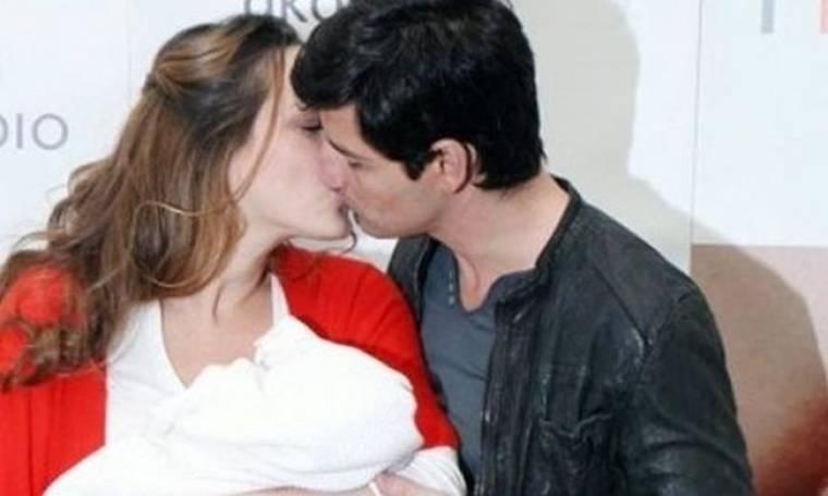 Σάκης Ρουβάς: Η βάφτιση της κόρης του,  η πασίγνωστη νονά και το τρίτο «Α»