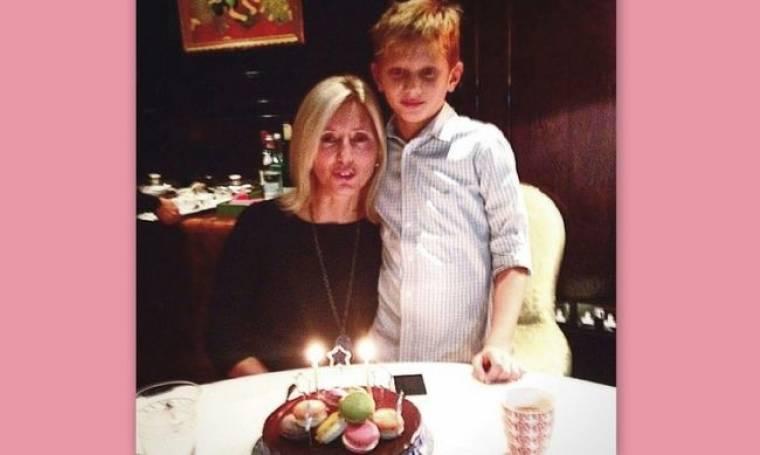 Η Μαρί Σαντάλ γιόρτασε τα γενέθλια της μαζί με το γιο της!