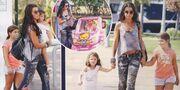 Νίνα Λοτσάρη: Με τις κόρες της σε ανέμελα παιχνίδια