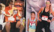Πετρουλάκη-Ιβιτς: Τρέξανε οικογενειακώς σε Μαραθώνιο
