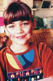 Τζούλη Τσόλκα: Φωτογραφίες της παιδικής της ηλικίας