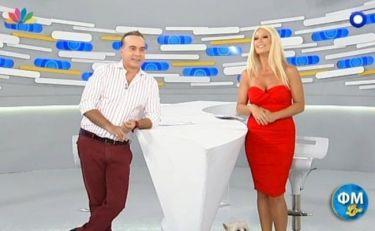 «Φώτης και Μαρία live»: Αυτά είναι τα νούμερα τηλεθέασης της πρεμιέρας
