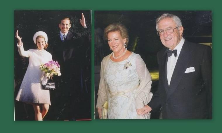 Τέως βασιλιάς Κωνσταντίνος- Άννα Μαρία: Το φωτογραφικό άλμπουμ από τη  χρυσή επέτειό τους