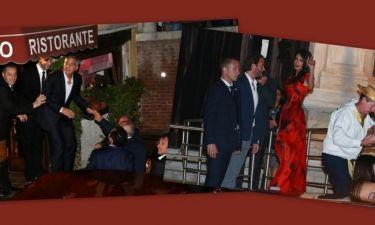 Clooney-Alamuddin: Φωτογραφίες από το πρώτο πάρτι ενόψει του γάμου τους