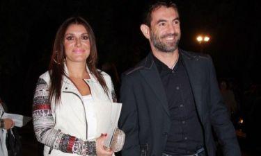 Γιώργος Καραγκούνης: Με την σύζυγό του στο Ηρώδειο