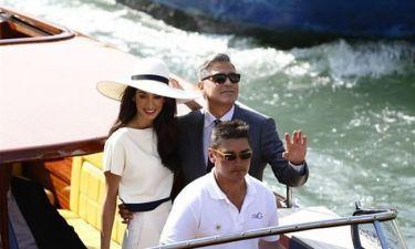 Clooney-Alamuddin: Μετά τον θρησκευτικό κάνανε και τον πολιτικό γάμο