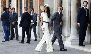 Δέκα λεπτά κράτησε ο πολιτικός γάμος του George Clooney