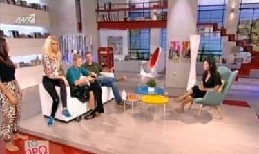 Τρελό Γέλιο: Η Σκορδά φορά κολάν on air και κάνει κωλοτούμπες με την Σταμάτη!