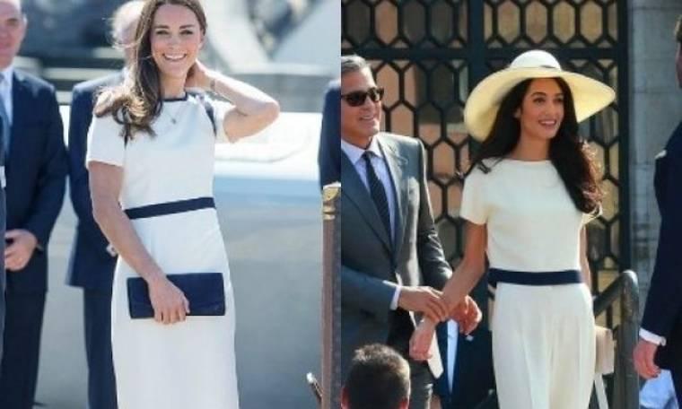 Mήπως η Kate Middleton «απειλείται» από την Amal Alamuddin;