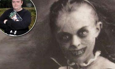 Σάλο προκαλεί το κορίτσι – φάντασμα με τα μαύρα μάτια στην Βρετανία