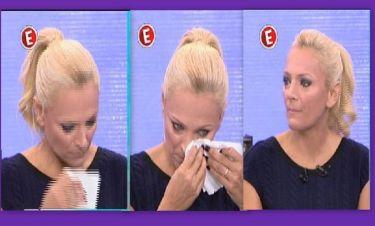 Τα δάκρυα της Χριστίνας Λαμπίρη on air!