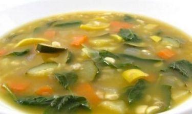 Συνταγή για την πιο νόστιμη σούπα αποτοξίνωσης!