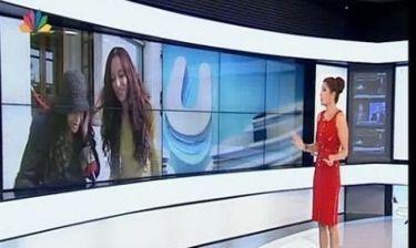 Συνέβη και αυτό! Η Τσαπανίδου παίρνει συνέντευξη από την Ελένη Λουκά!
