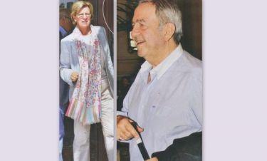 Το τέως βασιλικό ζευγάρι σε χαλαρή βόλτα στο Σύνταγμα