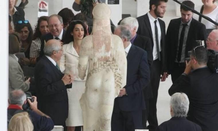 Αμάλ Αλαμουντίν: Το αίτημα της Ελλάδας για τα Γλυπτά είναι δίκαιο