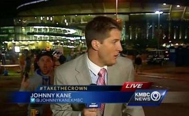 Κατατρόμαξε on air τον αθλητικό ρεπόρτερ!