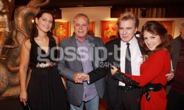 Με επιτυχία έγιναν τα εγκαίνια της έκθεσης ζωγραφικής του Θεόδωρου Μανωλίδη και Yannis Amoryanos