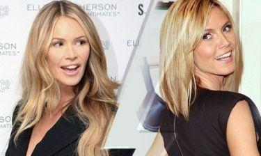 Προβλέπεται τρελό ξεμάλλιασμα ανάμεσα σε Elle Macpherson και Heidi Klum! Μάθετε το λόγο