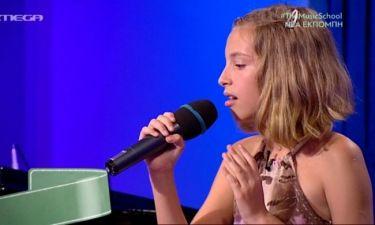 Η μικρή Σόνια ερμήνευσε Adele και «μάγεψε» τους κριτές του «The music school»