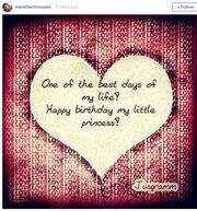 Το μήνυμα της Μαριέττας Χρουσαλά για τα γενέθλια της κόρης της!