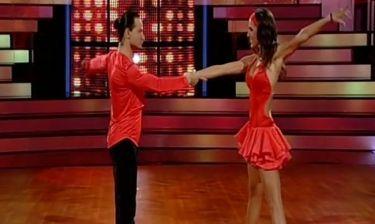 DWTS 5: Η Ελισάβετ Σπανού εντυπωσίασε χορεύοντας salsa