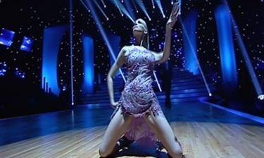 DWTS 5: Η χορογραφία της Νίκης Κάρτσωνα
